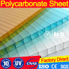 Greenhouse Plastic Sheet Hollow Polycarbonate Sheet 4mm/6mm/8mm/10mm/12mm for 10 Years Guarantee