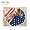 Western Style Fashion Design Round Beach Towel