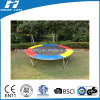 Colorful Trampoline Without Safety Net with Safety Pad