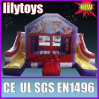 lilytoys inflatable bounce house with sldie for 2013