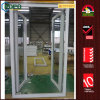 PVC Replacement Double Swing Entry Glass Doors for House