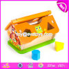 New Design Preschool Teaching Aids Wooden Interactive Toys for Toddlers W12D069