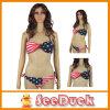 Fashion Steel Swimwear American Flag Steel Sexy Bikini (KS6106)