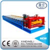 Beautiful Popular Color Steel Roofing Sheet Glazed Tile Roll Forming Machine