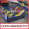 2014 PVC Material Giant Inflatable Spongebob Fun City Theme Amusement Park Equipment for Sale