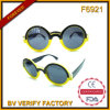 F6921 Hot Sale Fashion Women Style Round Sunglasses