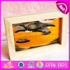 2015 Fashion Moving Sand Art Pictures, Cheap Mini Flowing Sand Art Pictures, High Quality Frame Soothing Sand W02A040