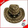 Paper Straw Cowboy Unisex Paper Braid Hat