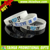 Color Debossed Silicone Bracelet for Promotion Gift (TH-band020)