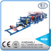 Automatic EPS/Rock Wool Composite Sheet Roll Forming Machinery