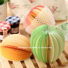 Fruit 3D Shaped Memo Pad for Gift