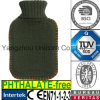 CE Green Army Hot Water Bottle Knitted Cover