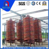 High Efficiency /Strong Power Gravity Spiral Chute for Gold / Copper / Tin / Tantalum / Niobium /Nickel/Lead/Silver