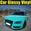 Glossy Tiffany Blue Car Wrap Vinyl with Air Free Bubbles