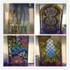 4+4mm Factory Church Stained Glass Tempered for Doors