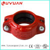 "1"" Rigid Grooved Pipe Coupling Clamp with Gasket"
