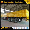 Tri-Axle Cargo Carrier High Side Wall Truck Trailer