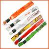 Plastic Clip Woven Wristband (PBR008)