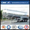 Cimc Huajun Aluminium Fuel Tanker with Mirror Surface