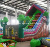 Inflatable Boucner Inflatable Castle Inflatable Green Houseworld Slide