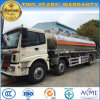 Foton 3 Axles 25 Cbm Fuel Bowser Aluminium Alloy Fuel Tank Truck