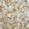 Yellow Lip Mop Shell Irregular Triangle Mosaic Tile