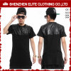 Wholesale Men′s Fashion Cheap Leather T Shirts (ELTMTI-50)