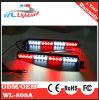LED Warning Visor Light and Split Warning Light Bar (Amber)