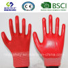 13G Polyester Shell with Nitrile Coated Work Gloves (SL-N112)
