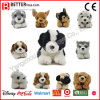 Realistic Stuffed Dog Toy Soft Animal Lifelike Plush Toy Lying Dog for Kids
