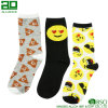 Joyous Cartoon Smile Custom Crew Dress Socks