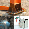 High Velocity Electric Arc Spray Machine Roofing Sheet Galvanized Steel Structure Shelf Stand Coating