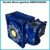 Motovario-Like Double Shaft Mechanical Nmrv Worm Gearbox