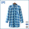 Fashion Long Sleeve Check Flannel Women Clothing