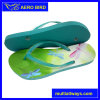 Comportable Footbed Flip Flop with New Design Jelly Strap