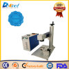 Round Things Rings Portable Fiber Laser Marking Machine Marker with Rotary Device