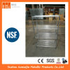 Warehouse Factory 4 Tiers Adjustable Chrome Rack