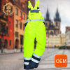 OEM Orange and Yellow Reflective Worker Construction Uniforms for Mechanical Workshop