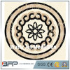 Marble Polished Water Jet Design Medallion for Hotel and Villa