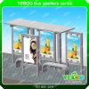 Customized Design Public Furniture Bus Stop Station with Light Box