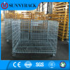 Heavy Duty Warehouse Storage Stackable Wire Mesh Container