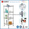 NSF DIY Stainless Steel Bathroom Corner Storage Wire Rack