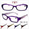 Unisex Plastic Reading Glasses with Leopard Pattern (WRP508330)
