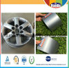 Non Toxic Decorative Wheel Hub Dark Silver Grey Powder Paint Powder Coating