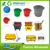 Custom Round or Rectangle Plastic Cleaning Barrel Bucket