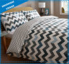 Patchwork Zig-Zag Design Cotton Duvet Cover Set