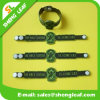 3D Embossed Logo Soft PVC Rubber Bracelet for Kids