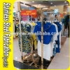 Keenhai Custom-Made Stainless Steel Metal Hanging Cloth Display Rack