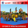 2017 New Mould Factory Kids Exercise Outdoor/Indoor Playground Slide Equipment Amusement Park Wooden Series HD16-168b