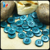 15mm Fancy Colored Round 4 Holes Nature Corozo Button